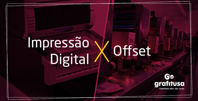 Diferença entre Impressão Digital e Off-Set